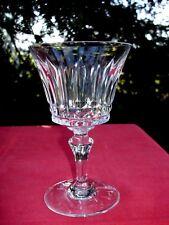 BACCARAT PICCADILLY WINE CRYSTAL GLASS WEINGLÄSER VERRE A VIN CRISTAL TAILLÉ