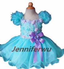 High glitz national Infant/toddler/baby/children/kids Girl's pageant DressG099-3