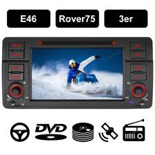 Autoradio für 3er BMW E46 318 320 GPS NAVI WiFi DAB+ DVD Player BT