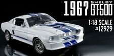 1967 Shelby GT500 WHITE 1:18  12929