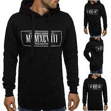 OZONEE J.STYLE JXW662 Herren Kapuzenpullover Sweatshirt Pullover Hoodie NEU