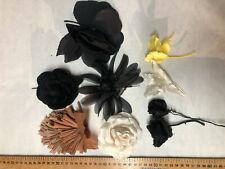 Lot fleurs tissu Haute couture  / Materiel couture Modiste