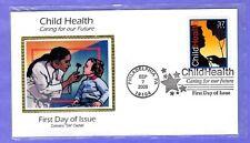 """2005 Sc #3938 37c Child Health Colorano """"Silk"""" Cachet FDC"""