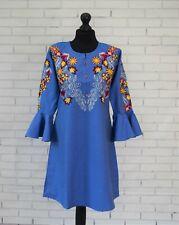 Womens Kurta Ladies Pakistani Embroidery Kurti Denim Shirt Girls Ready made