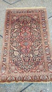COLLECTORS' PIECE Vintage Tree of Life Silk Turkish Carpet
