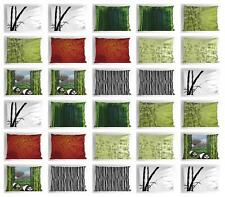 Bamboo Pillow Sham Decorative Pillowcase 3 Sizes for Bedroom Decor