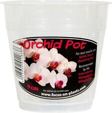 Clear Orchid Pot 9cm