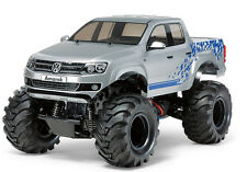 Tamiya 58603 1/10 RC 2WD Truck Kit WT01 Volkswagen Amarok Pick Up Truck w/ESC
