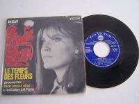 EP 45 T VINYLE , SANDIE SHAW , LE TEMPS DES FLEURS . VG - / VG -