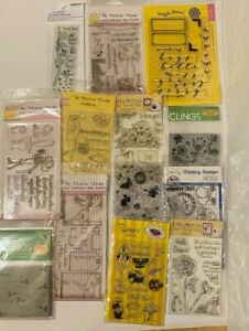 Stamp Lot - Whimsy Stamps, My Favorite Things, Hero Arts, Waffle Flower & more