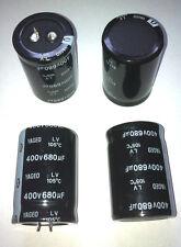 20 unidades electr Kond snap en lv400m0680 680uf 400v 105 ° rm10 Yageo 35 € incl. .