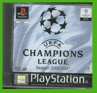UEFA CHAMPIONS LEAGUE 2000 2001 ps1 NUOVO calcio soccer SIGILLATO NEW sealed pal