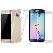 Coque Housse + Verre Trempé Pour Samsung Galaxy S6 Edge SM-G9250