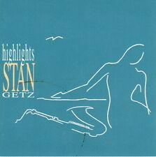 2 CD-Set Album Stan Getz highlights (stella by Starlight) 90`s Verve