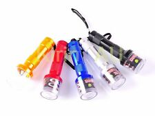 Automatic Flashlight Shaped Herb Tobacco Smoke Spice Crusher Electric Grinder