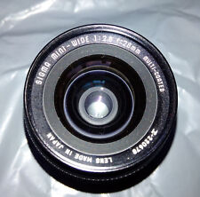 Sigma Mini-Wide 28mm f/2.8 Lens + Ensinor Auto Tele Converter 2X + Filter - C/FD