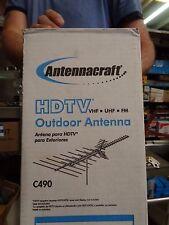 AntennaCraft C490 ColorStar HDTV VHF UHF FM Antenna 50 Element HD Ready