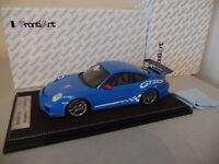 Porsche 911 997 GT3 RS 2010 Bleu rouge  / Blue red - FrontiArt 1/18 FRONTIART