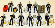 "Star Trek Next Generation 6"" Action Figures Lot 11 Loose 1996 1998 First Contact"