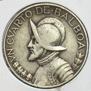 Panama 1930 1/4 Balboa 197293 combine shipping