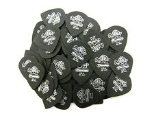 Dunlop Guitar Picks  Tortex Pitch Black Jazz  72 Pack  .60mm 482R.60