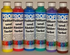 9,16-5,99€/L  Feidal Acryl Volltonfarbe  Abtönfarbe Wandfarbe 250 ml o. 750 ml