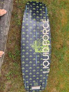 Wakeboard Liquid force 132 Shane Bonifay pro model+ Bindung Shane Bonifay Pro