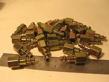 """26 pc Hansen 11 Steel 1000/400/500 Ser, Ind Inter, Plug 1/4"""" Body x 1/4"""" NPT Fem"""