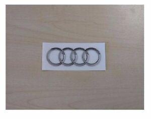 Audi Aufkleber Ringe Logo 4,3 x 1,6 cm Selbstklebend 8R0060306A