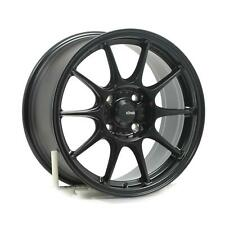Wheels KONIG DEKAGRAM 16x8 4x108 ET40 SEMI-MATTE BLACK