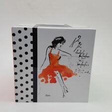 Avanti Couture Girls Tissue Box Holder Cover