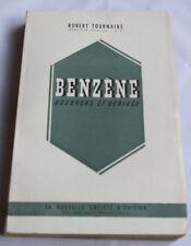 1946 Benzène goudrons et dérivés Tournaire N° envoi chimie