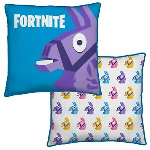 Official Fortnite Llama Square Cushion Pillow Matches Bedding
