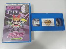 LAS SUPER NENAS LA PELICULA CACTUS PETALO BURBUJA - VHS CINTA TAPE ESPAÑA