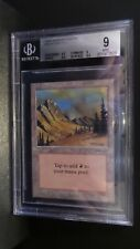 Arabian Nights ** Mountain (BGS 9) ** Mtg Magic