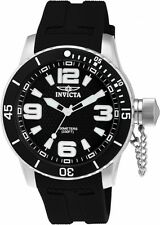 Invicta Men's Specialty Quartz Stainless Steel Black Polyurethane Watch 1670