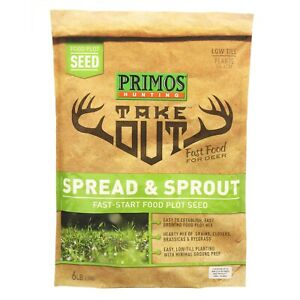 PRIMOS HUNTING: TAKE OUT - SPREAD & SPROUT - 6LB BAG - NEW