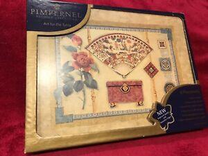 Pimpernel Premier Collection Placemats x6 Boxed - Excellent condition