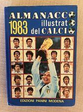 ALMANACCO CALCIO ILLUSTRATO PANINI 1983 BEARZOT CAMPIONI  MONDO 1982 PAOLO ROSSI