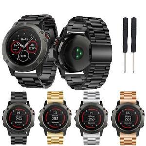 Stailess Steel Bracelet Strap Watch Band For Garmin Fenix 5X /Fenix 3/Fenix 3 HR
