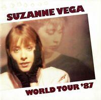 SUZANNE VEGA 1987 SOLITUDE STANDING TOUR CONCERT PROGRAM BOOK-TOM'S DINER-NM~MT