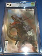 Dark Nights Death Metal #6 Parrillo T-Rex Variant CGC 9.8 NM/M Gorgeous Gem Wow