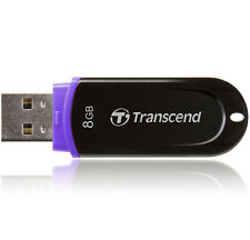 Transcend JetFlash 300 8GB USB 2.0 Flash Memory Pen Drive Thumb Stick TS8GJF300