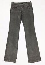 Sportmax code pantalone velluto grigio dritto bootcut I 42 GB10 F40 USA 8 T108