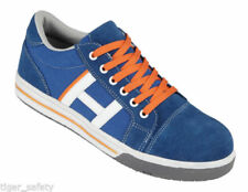Botas de hombre en color principal azul de ante