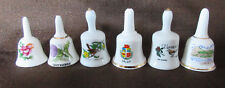 """Bell:Miniature Bell Lot Of 6: 1.75"""" to 2"""""""