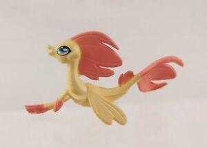 "My Little Pony Hasbro G4 Movie Yellow/Peach Seapony Figurine 2"" Long"