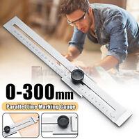 Streichmaß Anreißlehre 200-300m Mit Streichmass Messwerkzeug Anreißwerkzeug