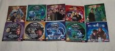 DOCTOR WHO PROMO BBC DVD lot of 10 DVD's