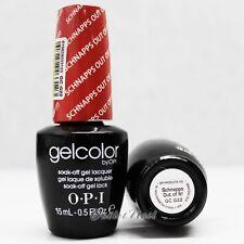 OPI GelColor GC G22 SCHNAPPS OUT OF IT! 15mL/ 0.5oz UV LED Gel Polish Color